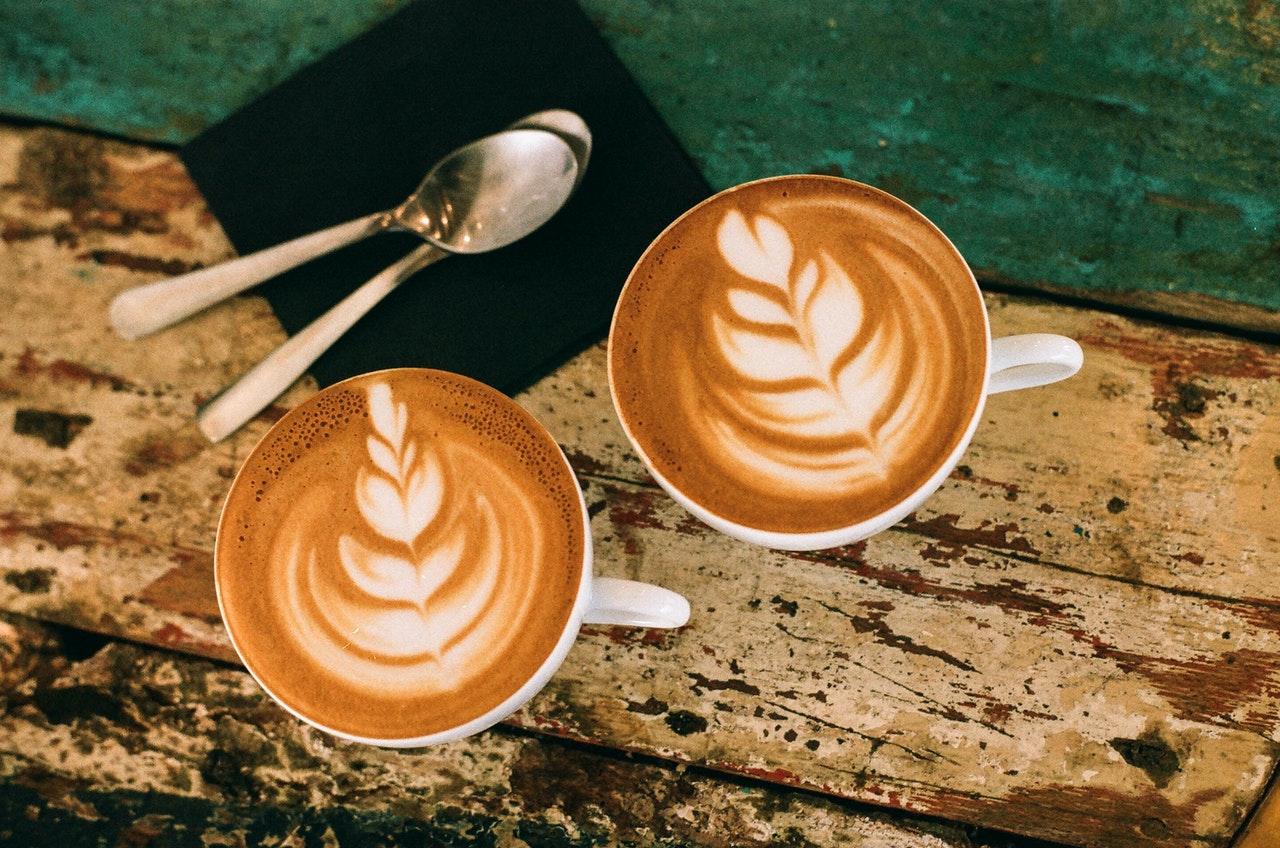 القهوة والكابتشينو