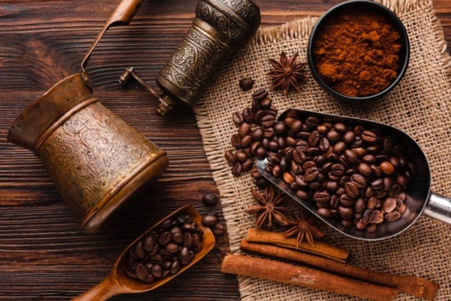 حبوب قهوة فرنش بريس