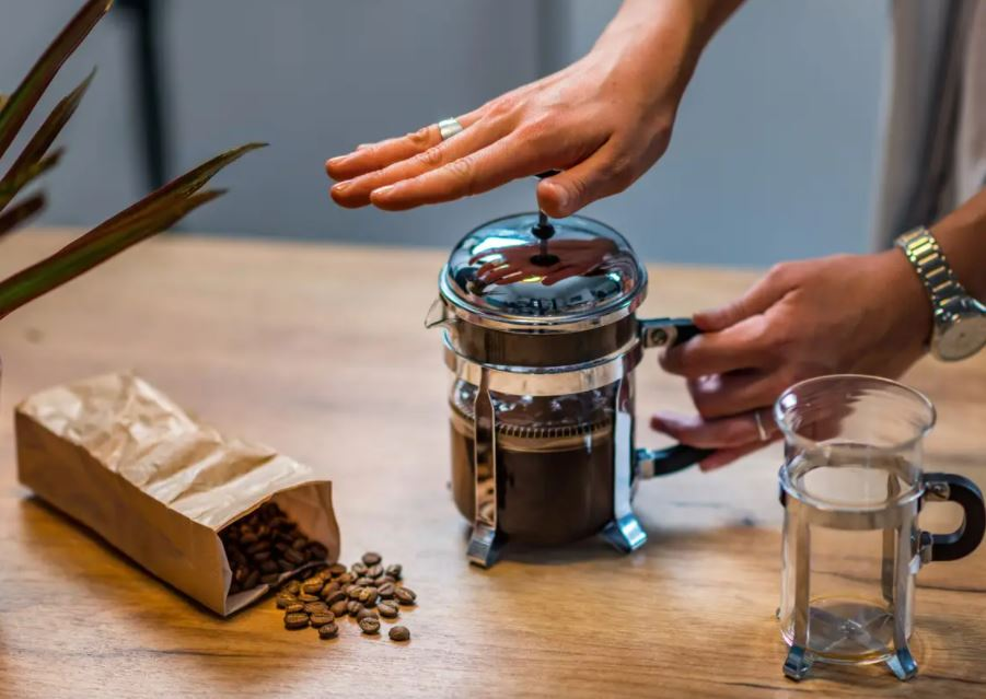 مكبس القهوة الفرنسي