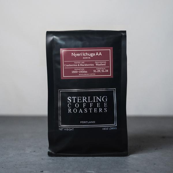 sterling coffee roasters nyeri kiandu ab