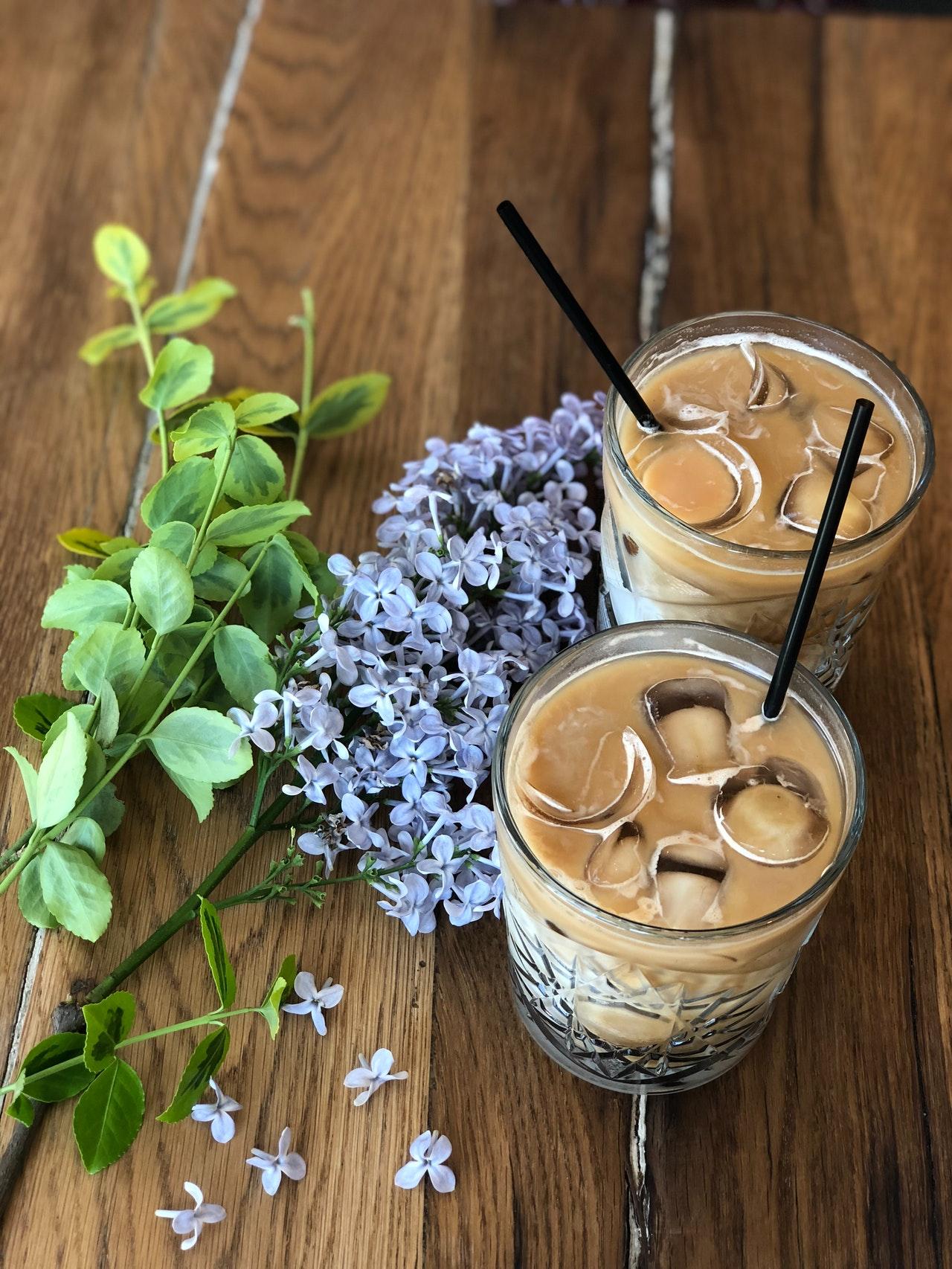 طريقة عمل القهوة المثلجة