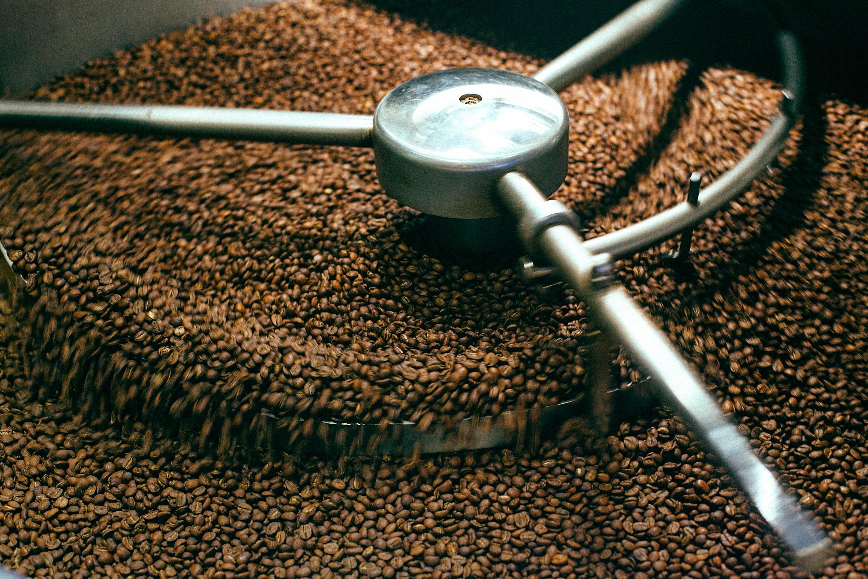 طريقة طحن القهوة
