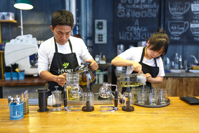 طريقة عمل القهوة بدون ماكينة